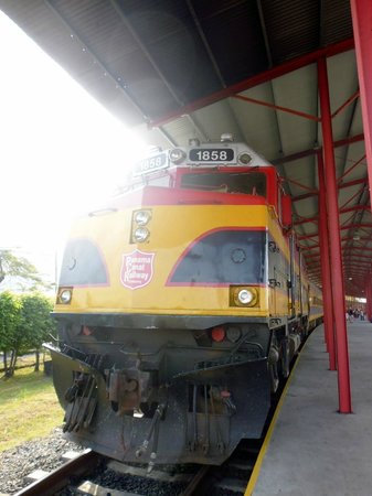 Panama Canal Railway Company: il treno