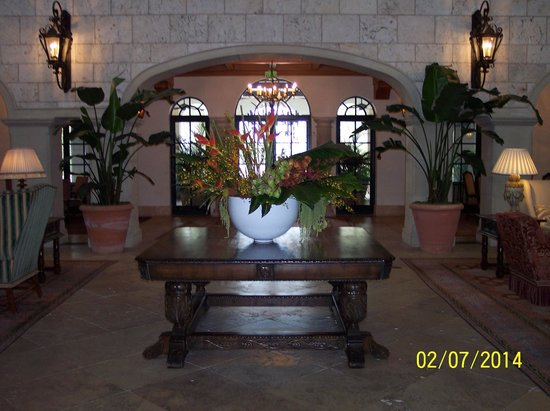 The Cloister at Sea Island: The Cloister Lobby