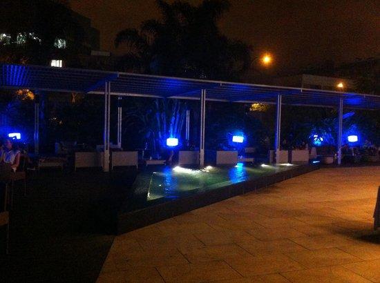 Hotel SB Diagonal Zero Barcelona: Terrasse