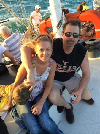 Schooner Appledore: Anniversary sunset cruise