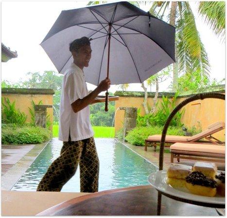 The Chedi Club Tanah Gajah, Ubud, Bali – a GHM hotel: Always Smiling
