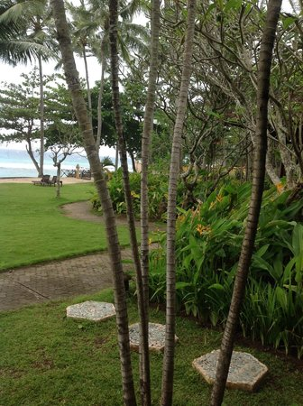 Alang-Alang Boutique Beach Hotel: View from room