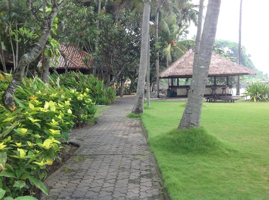 Alang-Alang Boutique Beach Hotel: Hotel grounds