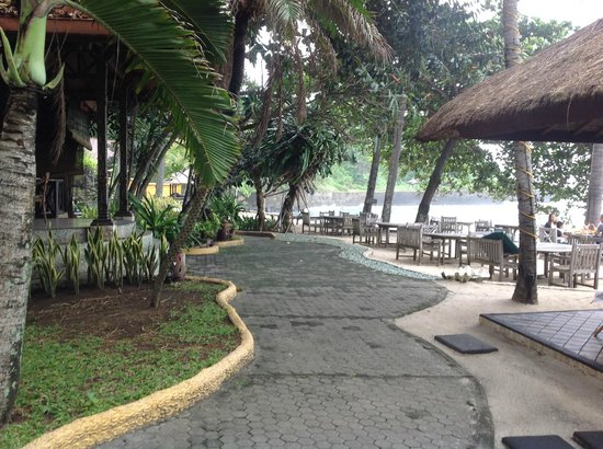 Alang-Alang Boutique Beach Hotel: Hotel and grounds