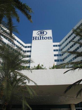 Hilton Cartagena: Fachada del hotel