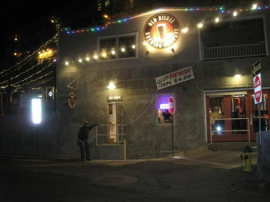 Old Bisbee Brewing Company : Old Bisbee at night