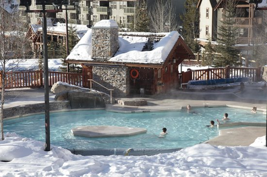 Panorama Mountain Resort: Les piscines thermales