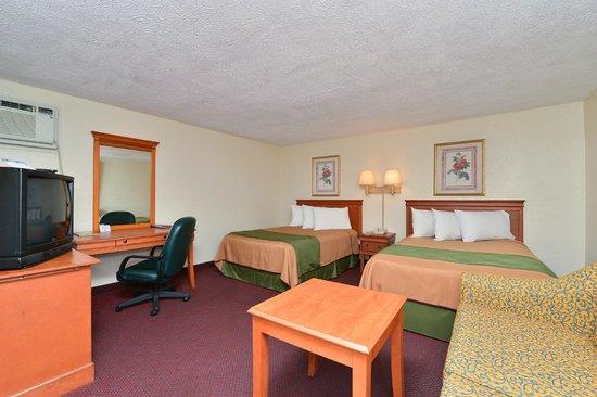 Americas Best Value Inn: 2 Double Beds