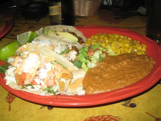 Santiago's Mexican Restaurant: Wife meal
