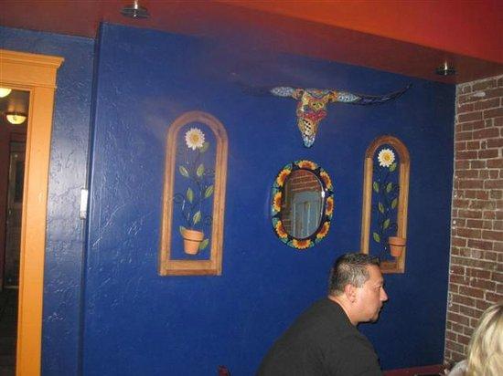 Santiago's Mexican Restaurant: rear room