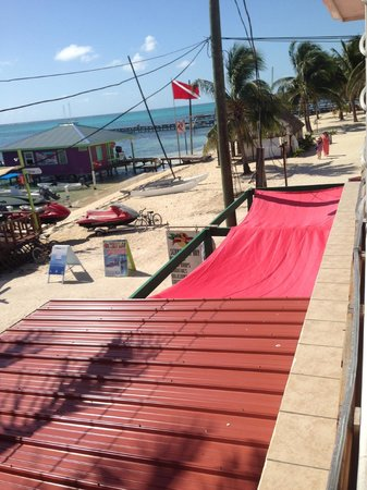 Doc'ks Tiki Bar & Grill: View from upstairs