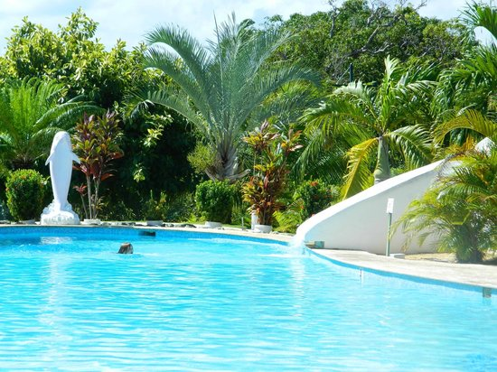 The Fajardo Inn: Pool with waterslide