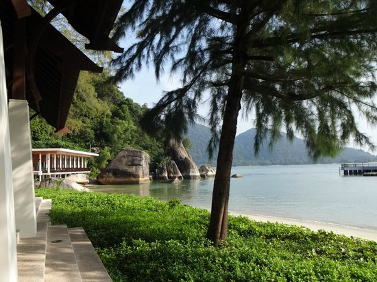 Pangkor Laut Resort: receptie-uitzicht
