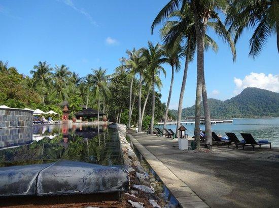 Pangkor Laut Resort: zwembad