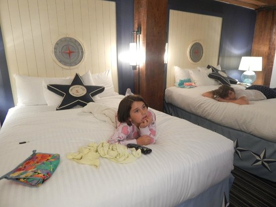 Argonaut Hotel, A Noble House Hotel : two comfortable queen beds