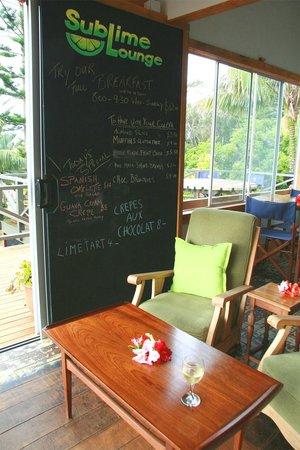 Sublime Cafe: Inside Sublime