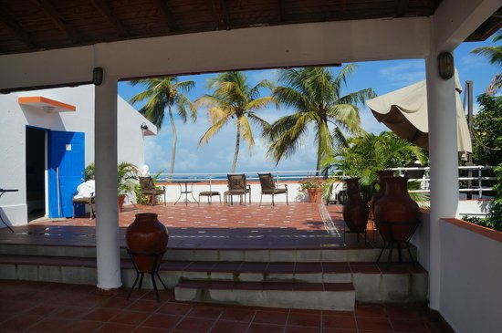 Tres Palmas Inn: Roof Top Terrace