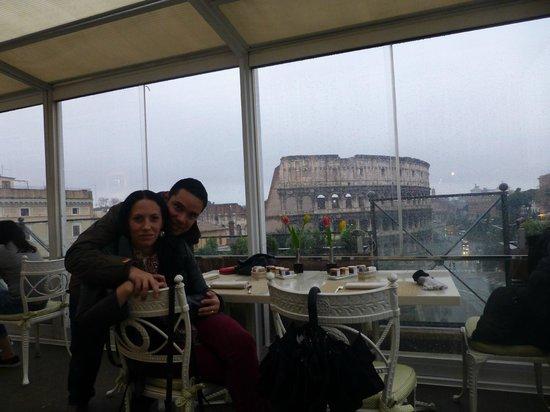 Palazzo Manfredi - Relais & Chateaux : Vista desde la terraza del hotel