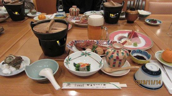 Izu Matsuzakiso: 夕食