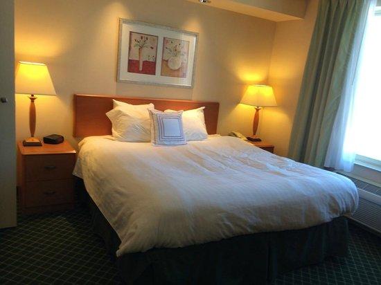 Fairfield Inn & Suites Wausau: King Bed