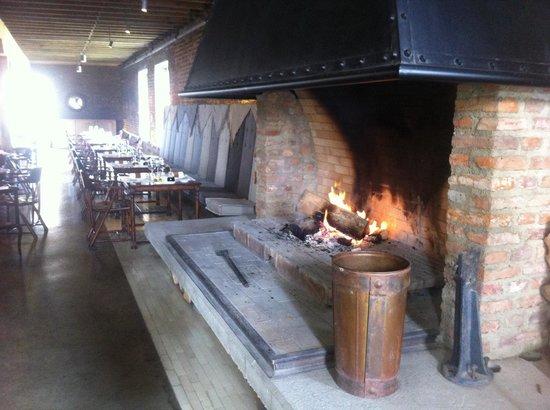 The Singular Patagonia Restaurant: Vista hacia el restaurante