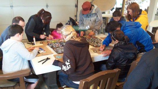Mor Art: Having fun making fused glass