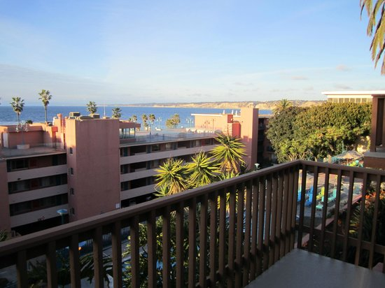 La Jolla Cove Hotel & Suites: View from the balcony