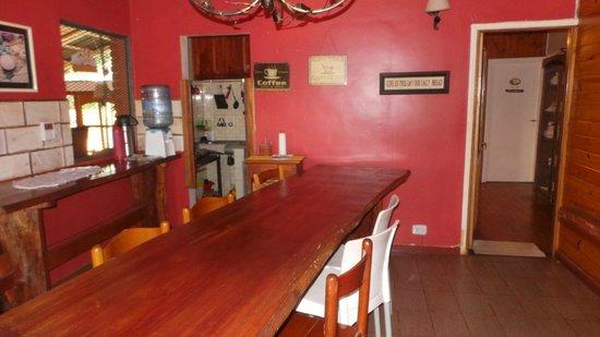 Guayra Guest House: Salón comedor