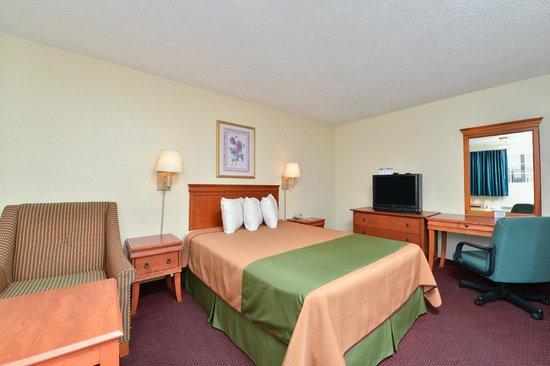 Americas Best Value Inn: 1 Queen Bed