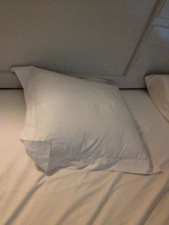 Occidental Costa Cancun: the small pillow i used since the big ones were really hard