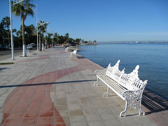 Benches along the Malecon