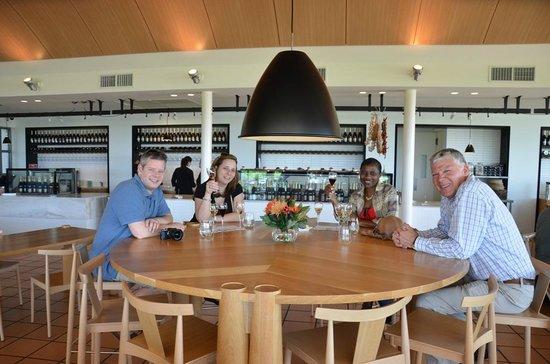 Vinetrekker Wine and Food Tours: Wine tasting at Chandon