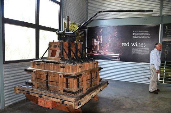 Vinetrekker Wine and Food Tours: Old grape press