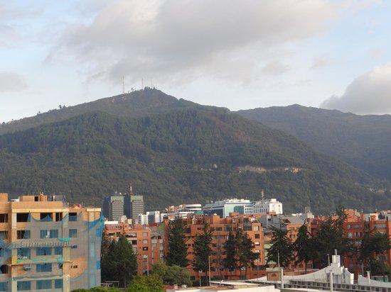 Hotel Dann Carlton Bogota: Vista desde el 6to piso