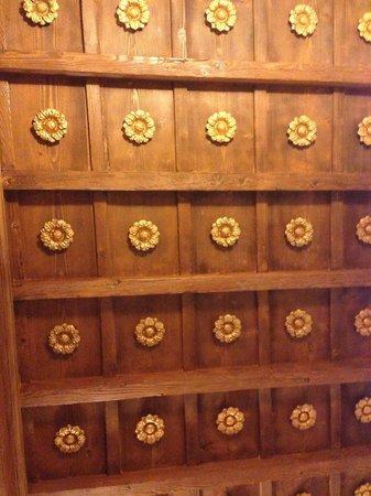 Il Guelfo Bianco : beautiful Florentine ceiling