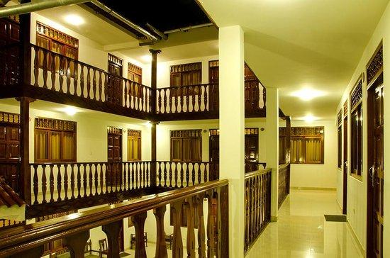 Posada del Arriero: vista a la salida de una de las habitaciones
