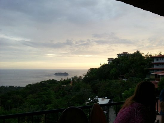 Cafe Agua Azul: Una buena vista mientras se come
