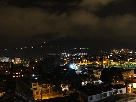 Hotel Dann Carlton Bogota: Vista 6to piso