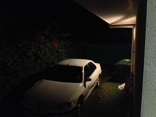 Pension de la Plage Tahiti : View from our private porch