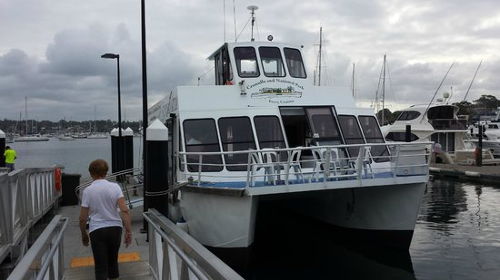 Cronulla & National Park Ferry Cruises: Living Cronulla wharf around 6ish...