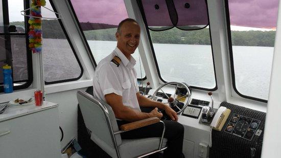 Cronulla & National Park Ferry Cruises : Excellent Captain, enjoyable commentator...