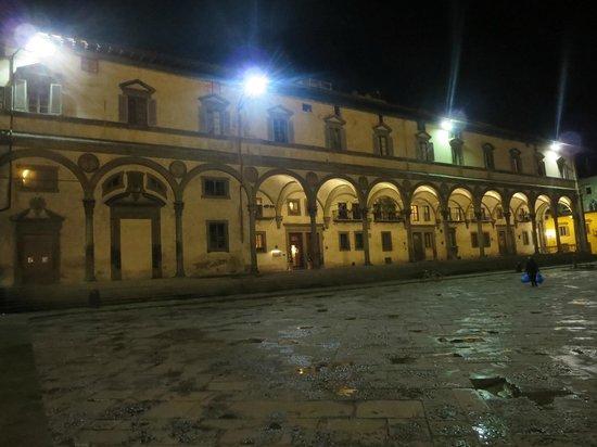 Hotel Loggiato dei Serviti: hotel building