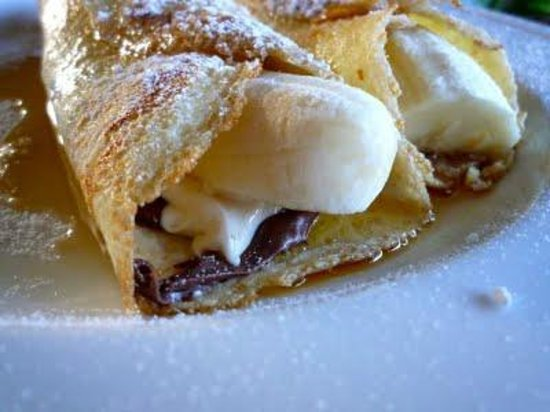 Cafe NamasThe: Crepe Choco-banane ooh la la!