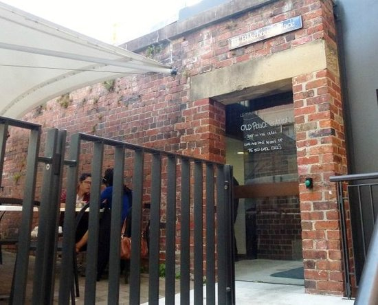The Rocks: Once a police station, you could eat in one of the cells should you so wish