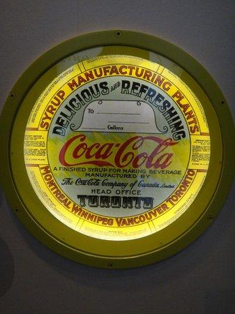 World of Coca-Cola: Memorabilia