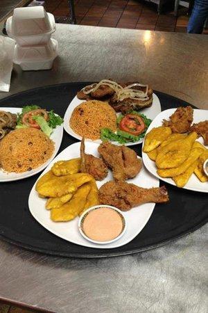 La Caribena Restaurant: La caribeña restaurant