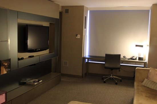 W New York - Times Square : Fantastic Suite Living Room