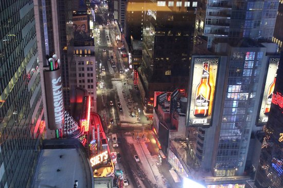 W New York - Times Square : View from Room 4011