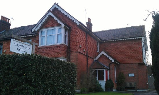 Front of Avonmead House