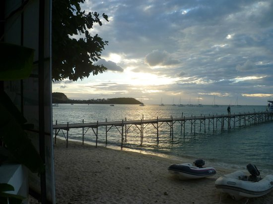 Samui Pier Resort: Beautiful sunset